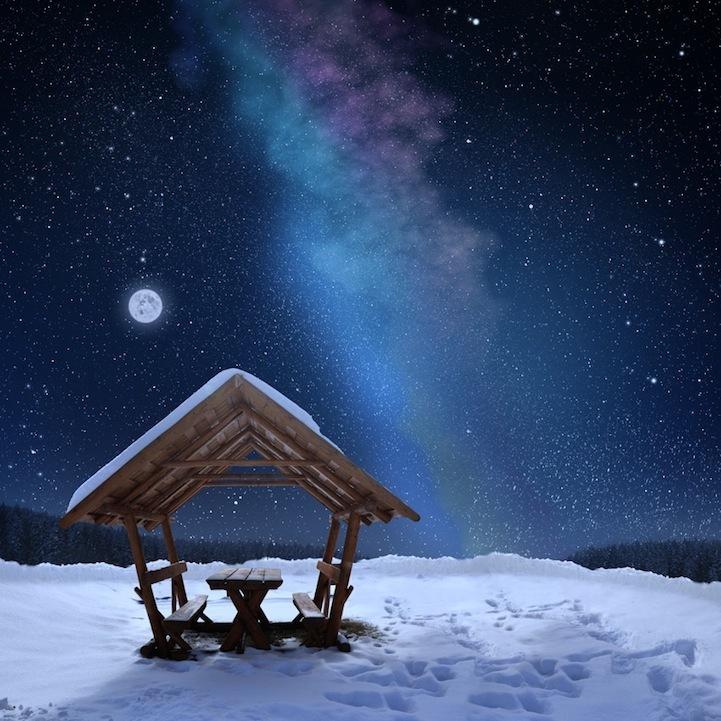 风光摄影:蓝色世界 新华网上海频道