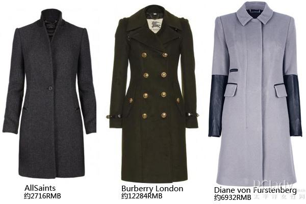 男装大衣款式设计图