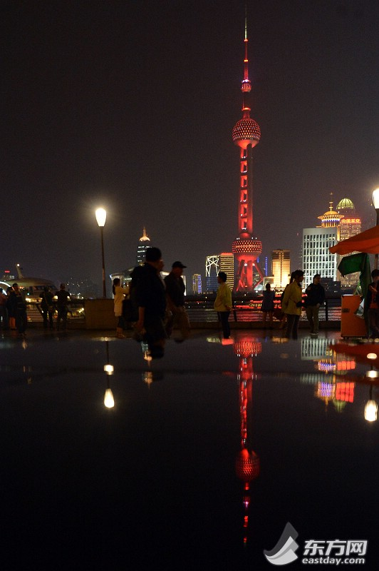 """摘编;""""首届世界城市日·点亮城市""""景观灯光秀亮相申城 - 行走并凝思着 - 行走 并凝思着"""