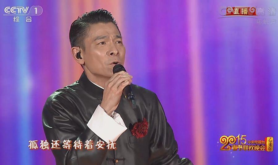 刘德华表演歌曲《回家的路》-刘德华演唱 回家的路 唱哭观众