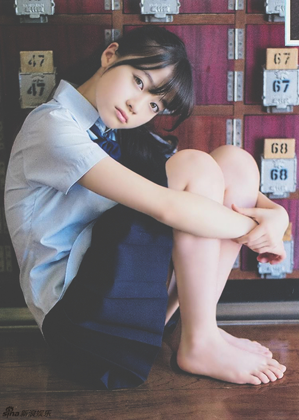日本千年一遇美少女 写真清纯可爱 新华网上海