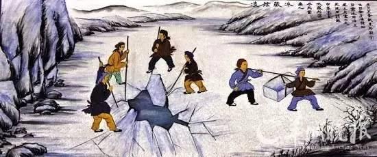 涨姿势!古代的冰块原来是这么来的!