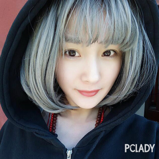 这些年杨幂的扮嫩秘籍 除了素颜美肌还有齐刘海假发套