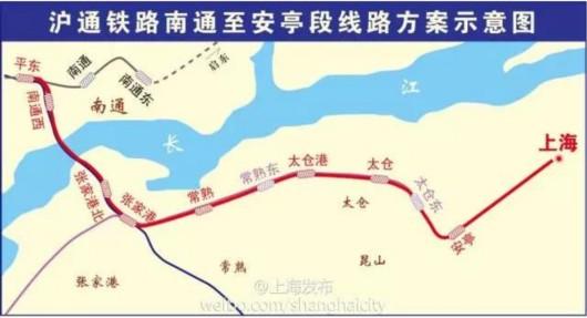 上海与南京间将建第二条快速铁路 一个小时到盐城