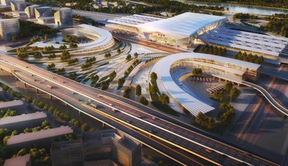 盐通高铁正式开建 未来盐城至上海只要1小时