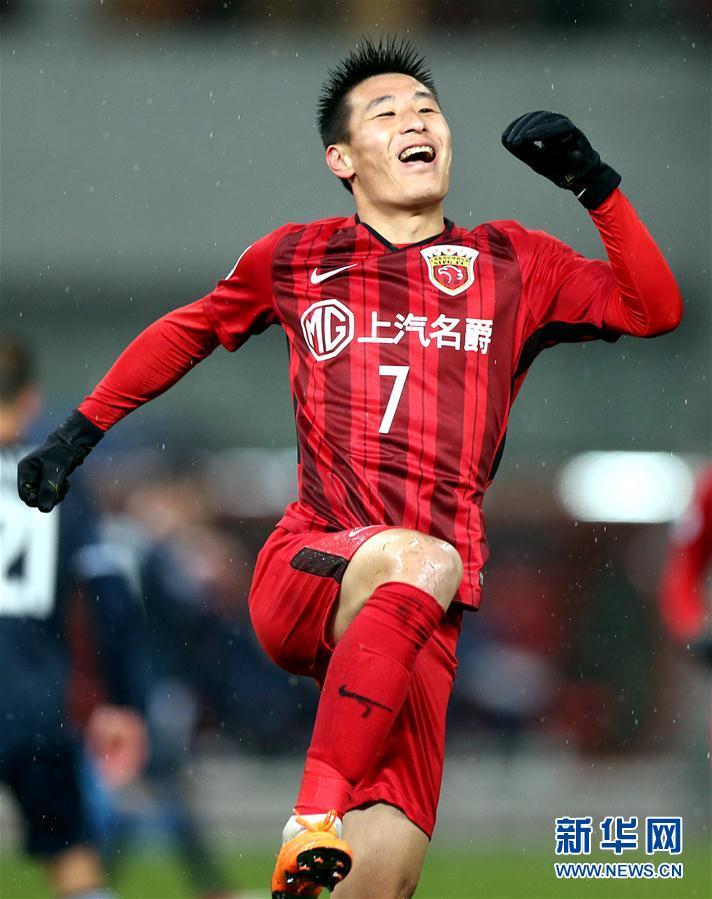 (体育)(1)足球——亚冠:上海上港胜墨尔本胜利