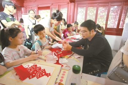 感受传统文化之美 上海开展多项节日主题活动