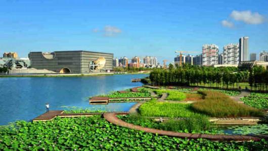 """嘉青松:上海西郊哪一幅""""江南画卷""""更能打动你"""