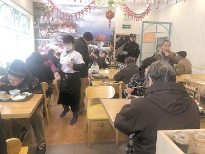 社区老年助餐点4年将增800个 到2022年日均服务16万人