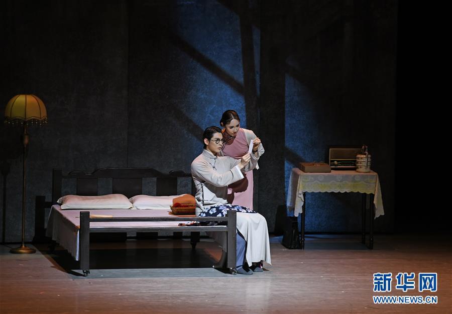 (图文互动)(1)第十二届中国艺术节在上海开幕 献礼新中国成立70周年