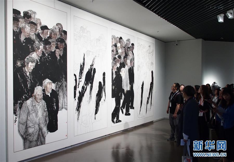 (文化)(2)第十二届中国艺术节三大国家级展览在沪开幕