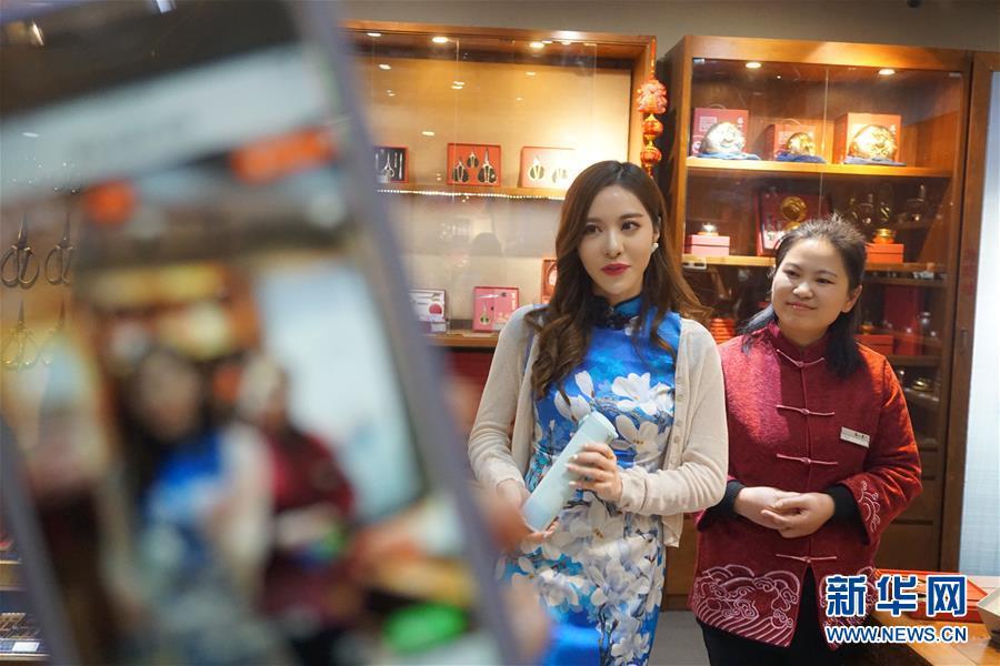 (經濟)(1)上海豫園:老字號網絡直播助推商圈復蘇