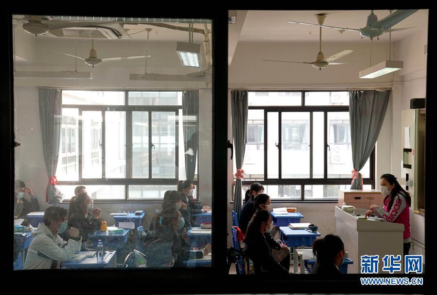 (教育)(5)上海高三初三學生返校開學