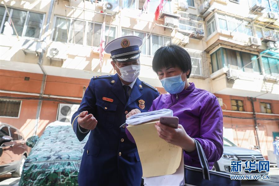 (新華視界)(1)上海:防范火災風險 嚴查安全隱患