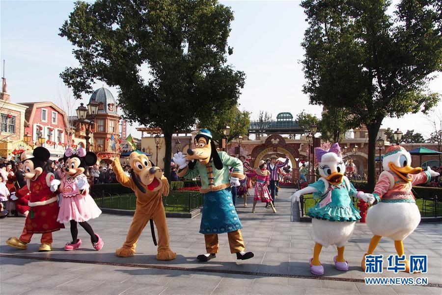 上海迪士尼重新开园 网友:我的快乐又回来了