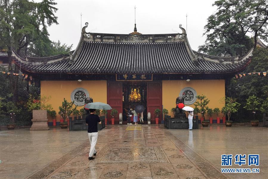 (社會)(1)上海龍華寺有序恢復開放