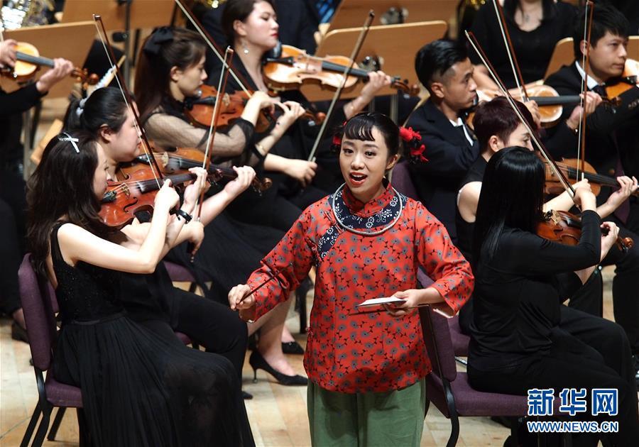 (文化)(1)音樂會版歌劇《洪湖赤衛隊》亮相上海夏季音樂節