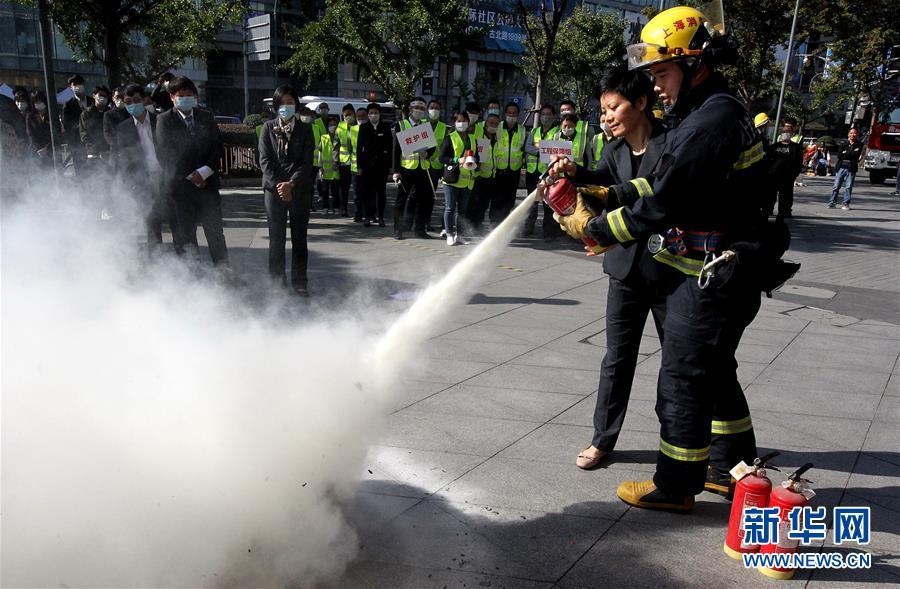 (第三届进博会)(1)严把消防关 迎接进博会