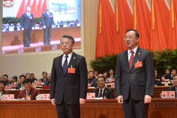徐泽洲、沙海林当选为上海市人大常委会副主任