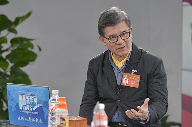"""全国政协委员罗康瑞:港沪联手推动""""一带一路""""建设"""