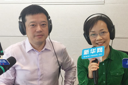 上海市文广局局长于秀芬在线访谈