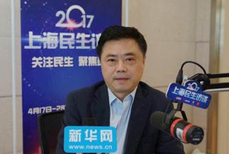 上海市旅游局局长杨劲松在线访谈