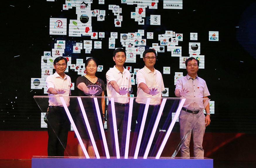 新华网VR走进嘉定新城(马陆镇)庆祝中国共产党成立96周年大会
