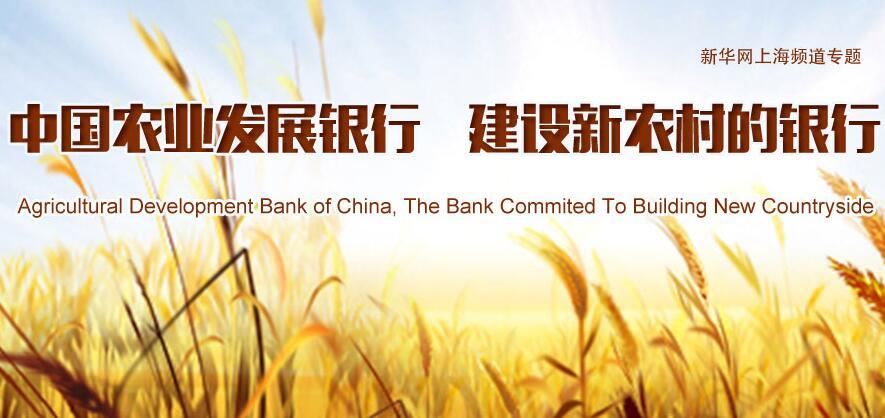 中国农业发展银行 建设新农村的银行