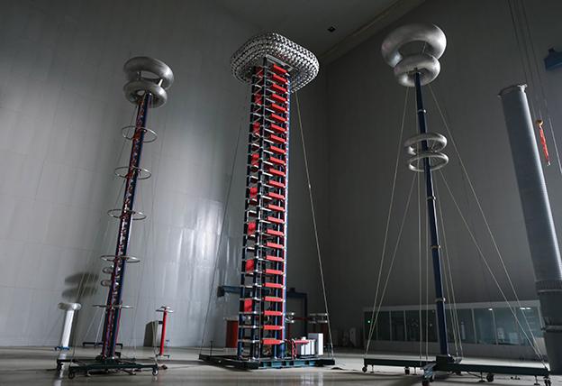 神马电力国际一流的特高压试验大厅