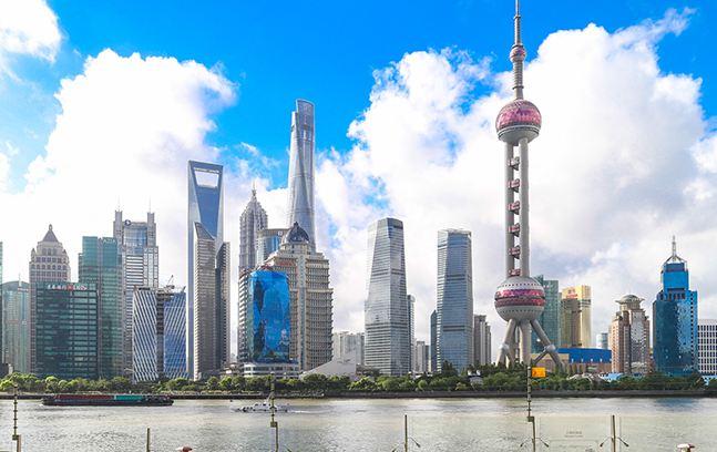 航拍陆家嘴——纪念浦东开发开放28周年