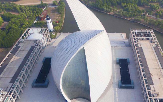 """【改革开放40年""""飞阅""""上海】上海航海博物馆"""