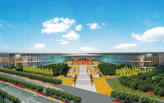 """进口博览会主会场绘出中国风 配套道路这样""""快进快出"""""""