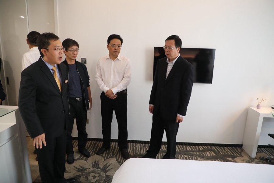 10月17日,嘉定开展进博会安全生产大检查。