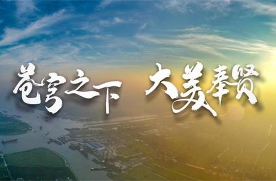 """上海奉贤:""""十字水街、田字绿廊,九宫格里看天下,一朝梦回五千年"""