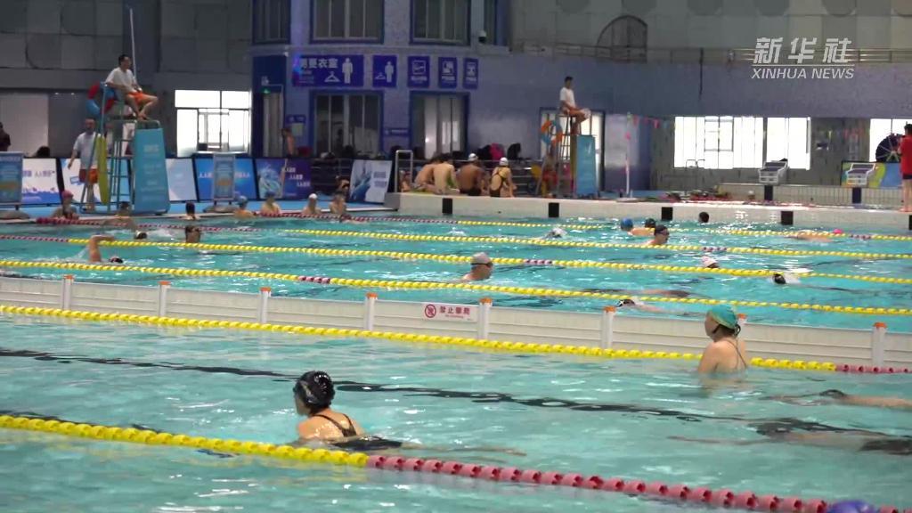 """上海:科学防控中""""全民健身与奥运同行"""""""