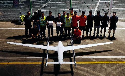 长三角无人机海岛间物流运输实践取得进展