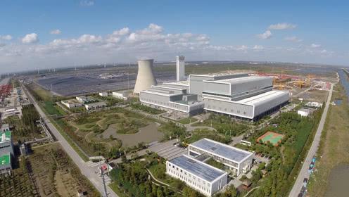 老港基地:每天六千吨垃圾转化为清洁电能