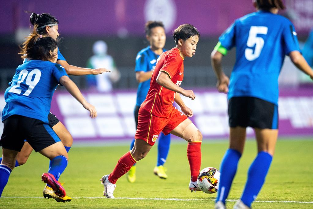 全运会 | 联合队与上海队会师女足成年组决赛