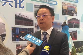兴化市市长黄红旗接受新华网采访