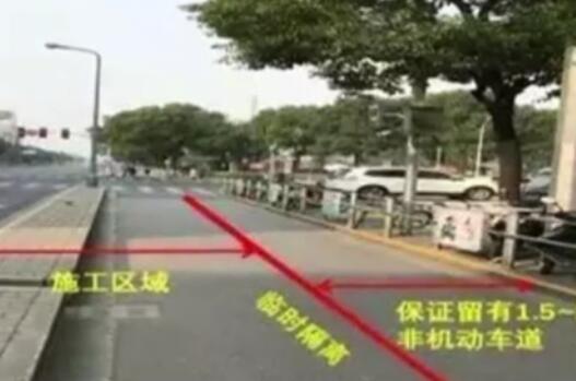上海:吳中路開建8公裏公交專用道