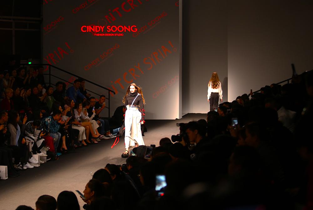 原创设计品牌CINDY SOONG亮相上海时装周