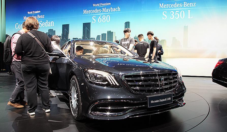 奔驰新款S级中国专属版全球首发