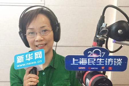 """上海文广局长于秀芬:市民出门15分钟就有""""文化圈"""""""