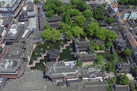 【视频】鸟瞰东南名园之冠——上海豫园