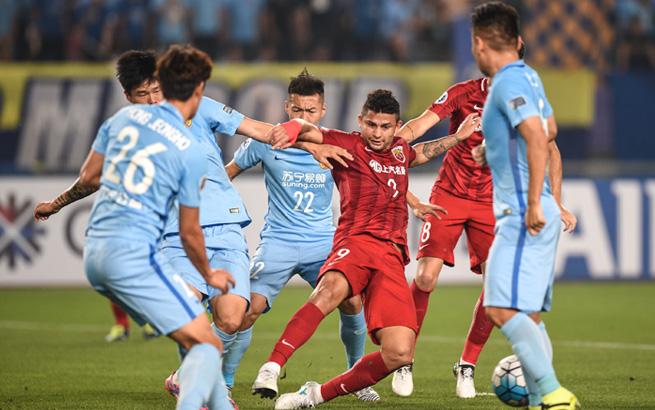 亚冠:上海上港队晋级八强
