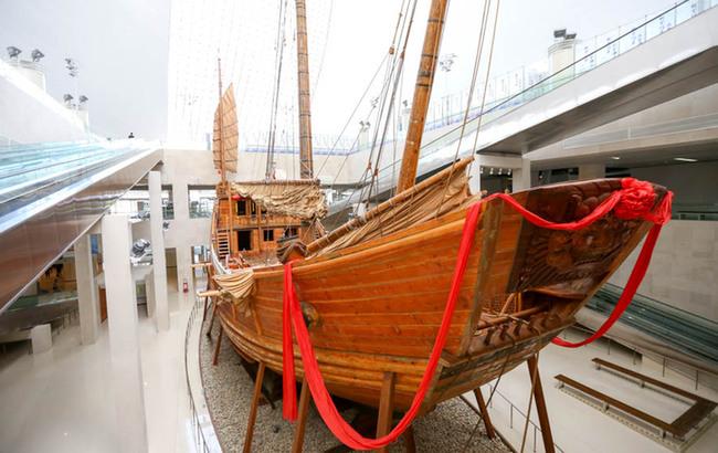走进中国航海博物馆 感受悠久航海历史与文化
