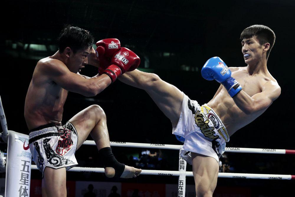 搏击——拳台上的较量
