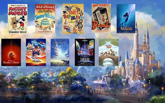 上海电影节展映的这10部电影 你在上海迪士尼乐园里都能找到!