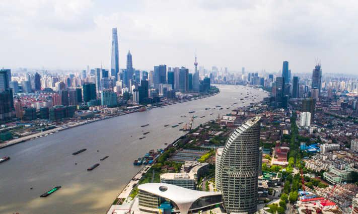 """瞰上海 杨浦滨江2.8公里展现""""百年工业记忆"""""""