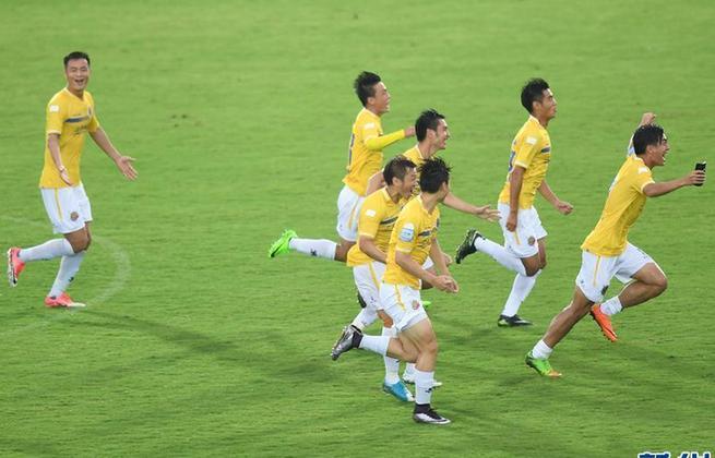 足协杯:上海申鑫7比6胜杭州绿城